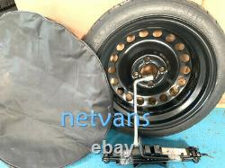 15'' Mini Cooper 00-13 Spare Wheel With Cric Cle Bag In Addition. 55x14