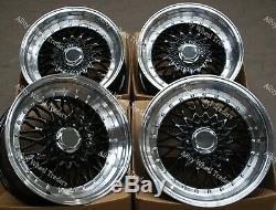 17 Black Alloy Wheels For Rs Mini R50 R52 R55 R56 R57 R58 R59 Clubman 4x100