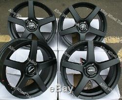 17 Black Rhythm Alloy Wheels 4x100 Bmw Mini R50 R52 R55 R56 R57 R58 R59