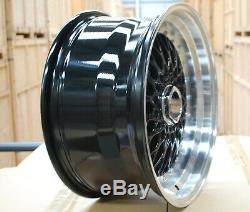 17 G Black Alloy Wheels Rs 4x100 Bmw Mini R50 R52 R55 R56 R57 R58 R59