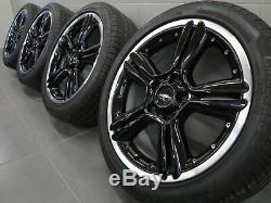 18 Inch Wheels On Summer Original Mini Countryman Paceman R60 R61 127 Jcw Wheels