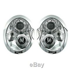 2 Lights Headlight Angel Eyes Bmw Mini Cooper R50 R52 R53 And One