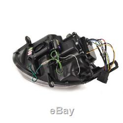 2 Lights Headlight Chrome A Led Tube Bmw Mini Cooper And Mini One R55 R56 R57