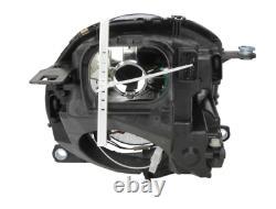 2x Headlight Front Right+left Electric H4 For Mini (r56) 06-13 Mini (r57) 08-15