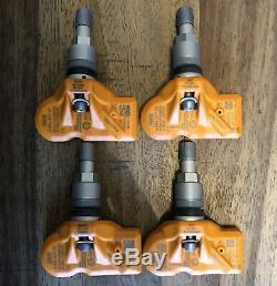 4 Bmw Pressure Sensors Tire Ground LC 433 Mhz X1 X3 E84 F25 F10 5er Mini