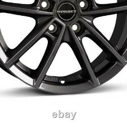 4 Wheels Borbet W 7.0x17 Et48 5x112 Taa For Mini Convertible Clubman Countrym