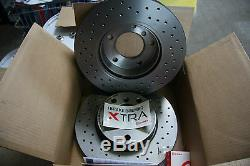 4x Brembo Brake Discs Sport Xtra Mini R50 R52 R53 Kit For Front And Rear