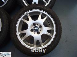 4x Original Mini One D Cooper R50 R52 R53 5.5j X 16-inch Rims 6755814