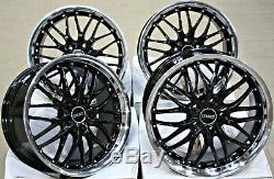 Alloy Wheels 18 Cruize 190 Bp Poli Deep Black 4x100 18'inch Alloys
