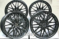 Alloy Wheels 18 Cruize 190 MB Black Deep Mat 5x112 18 Thumb Alloys