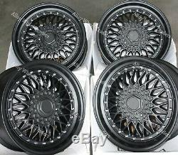 Alloy Wheels Rs 17 For Mini R50 R52 R55 R56 R57 R58 R59 Clubman 4x100 Mat