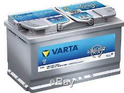 Battery Varta Start-stop Silver Dynamic Agm 80ah / 800a (f21)