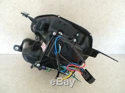 Bmw Mini 2007-2013 R55 & R56 Black Led Light Bar Drl R8 Headlights Projector