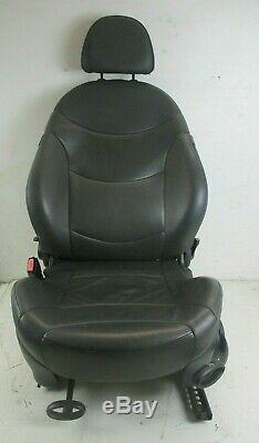 Bmw Mini One / Cooper / S R50 R53 Tailgate Before Left Full Leather Seat True
