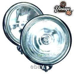 Bmw Mini R50 52 R53 2001 To 2006 Chrome Spot Headlights Fixing Wiring Kit