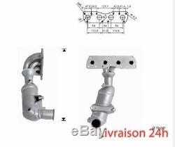 Catalyst Peugeot 207 1.6i 16v Vti 120 HP Ep6 (5fw) 1/07