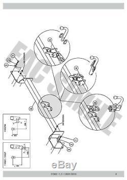 Demont Hitch Mini Clubman R55 Sedan 3-5 Doors 11002 750 50 07-15 / C E1