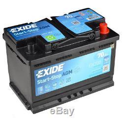 Exide Ek700 70ah Agm Start Stop Micro-hybrid Car Battery