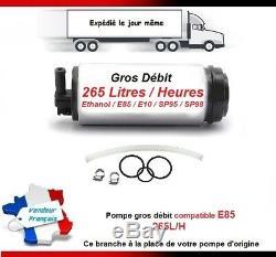 Fuel Pump High Flow Type Dw65v Ethanol E85 Mini One / Cooper S R50 R52 R53