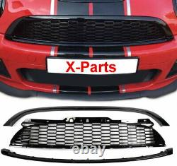 Grille Together For Mini Cooper R56 R57 2006-2009 Gloss Black