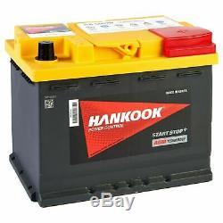 Hankook 12v 60ah Agm Start Stop Start Car Battery 242x174x190mm