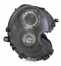 Headlight Xenon Black Passenger Right Mini R58 R59 10/2006-up Optical Lights