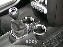 Interior / Chrome Kit Suitable For Mini One Cooper S D R56 R55 Clubman