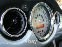 Interior Fittings In Chrome Kit 26 Parts For Mini One Cooper S D R50 R52
