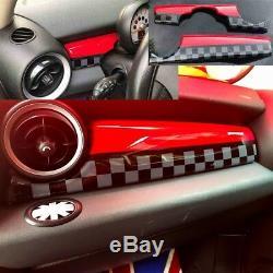 Interior Interior Red Tile Design Mini Cooper R55 R56 R57 R58 R59