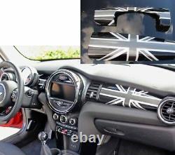 Interior Interior Union Jack Black Suitable For Mini One Cooper F56 F55 F57