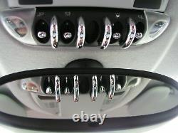 Interior Layout Kit In Chrome 27tlg. For Mini Cooper S D R56 R55 Clubman