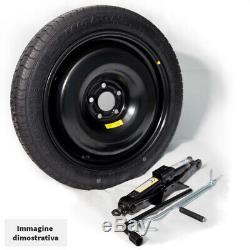 Kit Emergency Wheel (wafer) 17 Mini Countryman 17 With Key F60 Jack And Bag