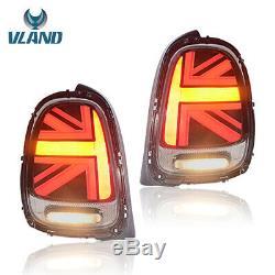 Lhdfeu Rear Mini Cooper S F55 F56 F57 14-18 Union Jack Dynamic Rear Lights