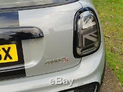 Mini Black Led Union Jack Tail Lights F55, F56 Cooper S, Jcw 2014 2019