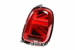 Mini Cooper F55 14- True Led Rear Lights Pair Set Union Jack Special Us