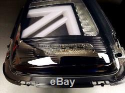 Mini Cooper Mk2 / S R56 R57 R58 R59 Black Union Jack Tail LCI Facelift