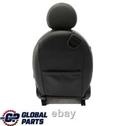 Mini Cooper One R55 R56 Seats Drivers Seat Front Sport Right Leather Black