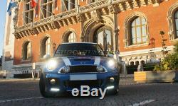 Mini Cooper R55 R56 R57 R58 R59 Top Sun Aero Body Kit Front Bumper W /