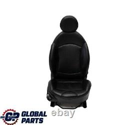 Mini Cooper R55 R56 R57 Seats Drivers Seat Front Sport Right Leather Black