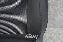 Mini Cooper R56 Sport Half Leather Black Inner Front Left Seat Left Side / S