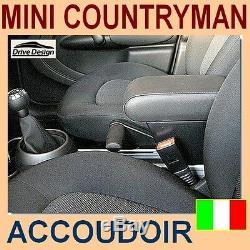 Mini Countryman R60- Armrest And Storage For -armrest -apoyabrazos -italy - @