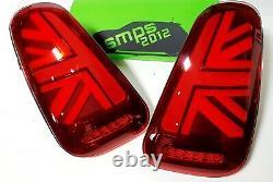 Mini Gen 1 Led Red Union Jack Rear Lights R50, R53 2001-04 Pre-lci