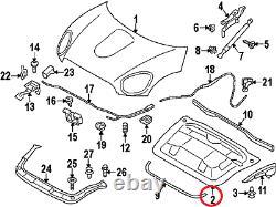 Mini Neuf Genuine Countryman R60 Paceman R61 Sound Insulation For Engine Hood