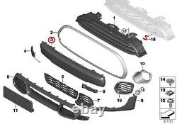 Mini New Genuine F55 F56 F57 Jcw Front Pare-choc With Pdc Black Cover 7379434