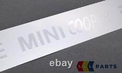 Mini Nine Oem R50 R52 R53 R56 LCI Cooper Entrance Door Threshold Pair Band 2 Piece