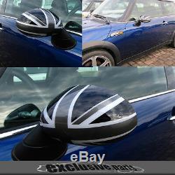 Mini One Cooper R50 R53 200111 / 2006r52 03/2009 Union Jack Rear View Mirror