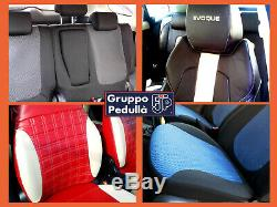 Mini One R50 1 ^ Series ('01 -'07) Customized Seat Covers In Textile