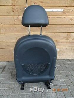 Mini R50 R53 Part Leather Sports Seats, Adjustable Left Without Driver