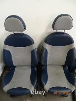 Mini R53 / Session/ Seat Back / Seat / Checkmate Blue / Full Session