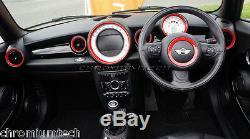 Mk2 Mini Cooper / S / One R55 R56 R57 R58 R59 Red Inner Dashboard